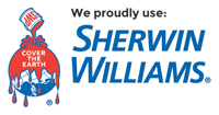 KINGDOMPAINTING.BIZ Proudly Uses Sherwin William Paint